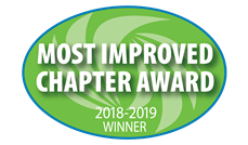 2018-2019 Most Improved Chapter Award Winner
