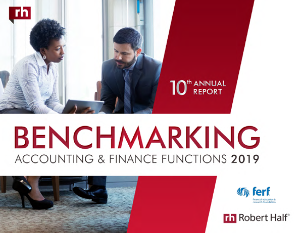 Benchmarking Accounting and Finance Functions: 2019